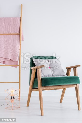 902720222 istock photo Ladder by the wall 678603764