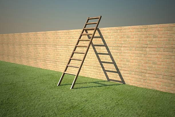 Ladder Concept [ l ] stock photo