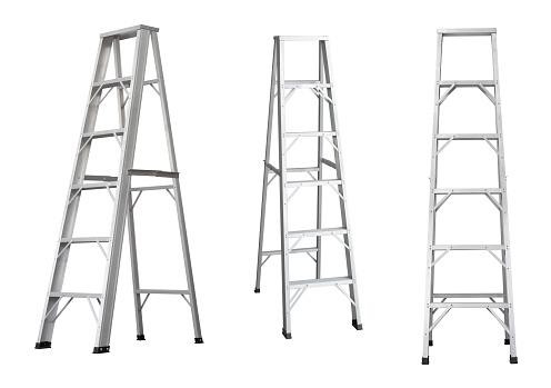istock Ladder isolated 588954828
