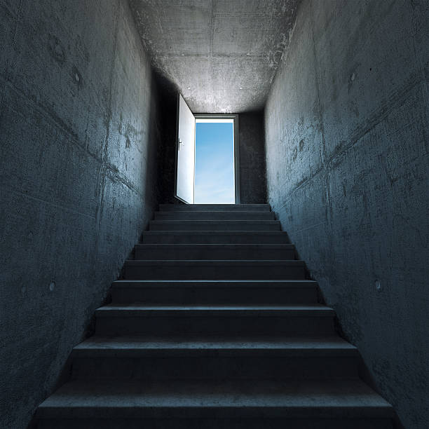 les marches menant - marches marches et escaliers photos et images de collection