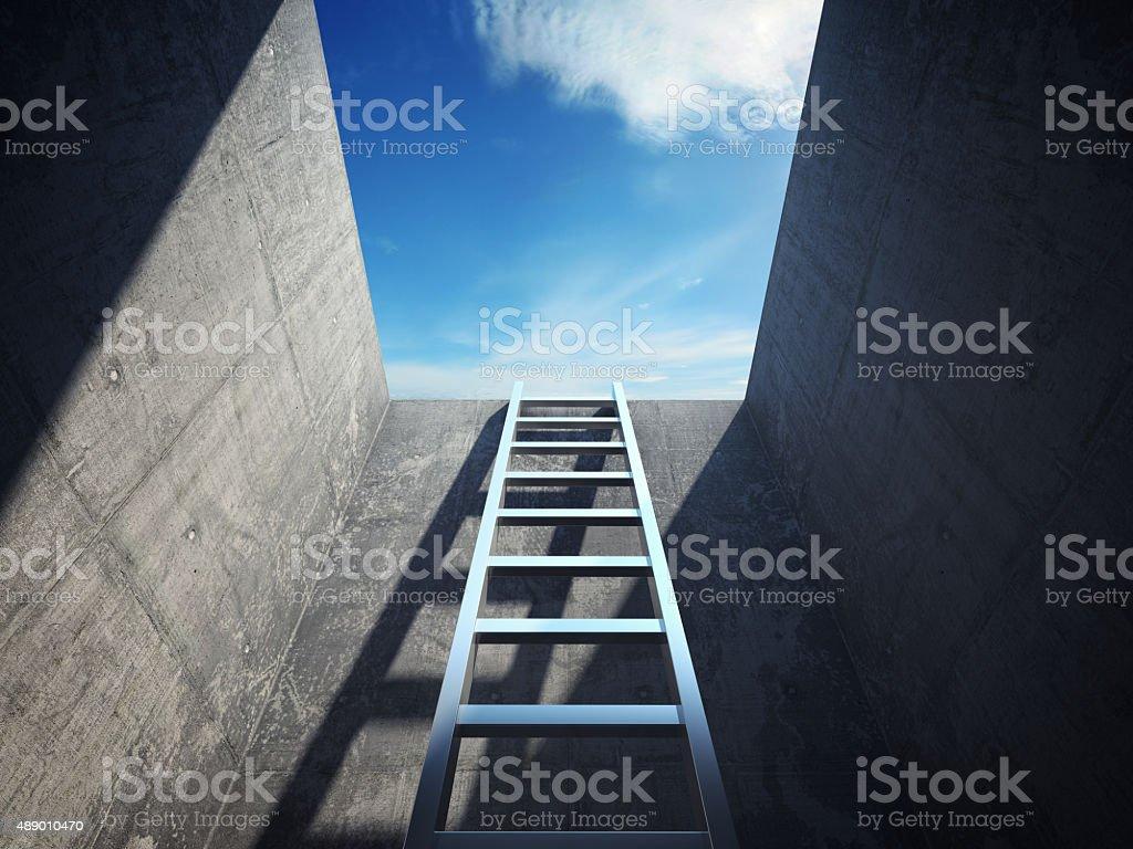 Escada que antecedem - foto de acervo