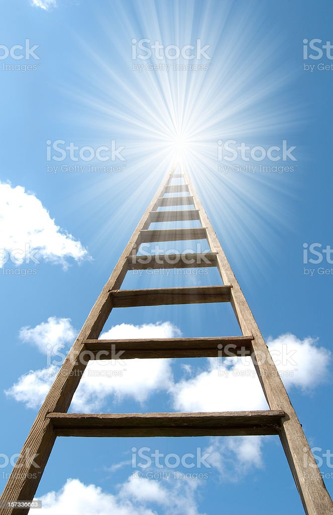 Ladder of Opportunity royalty-free stock photo