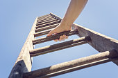 istock Ladder of success 1256722008