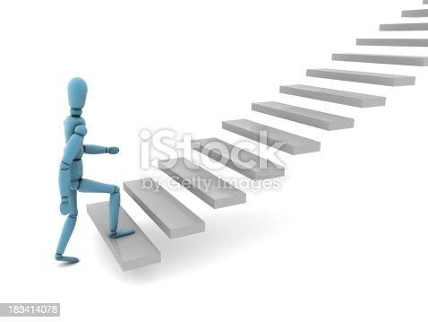 istock Ladder of Success 183414078