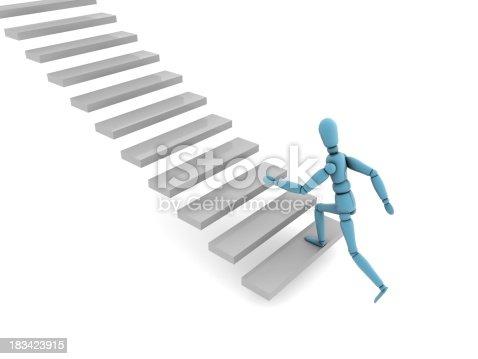 istock Ladder of Success 183423915