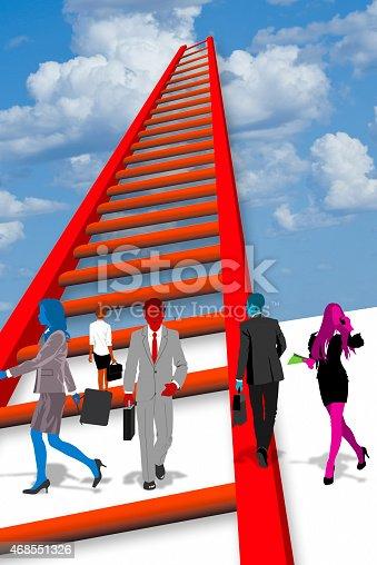 513121118istockphoto Ladder of Success. 468551326