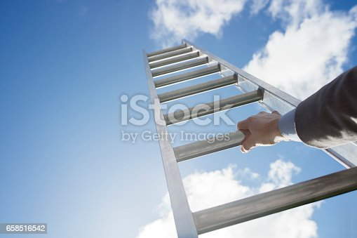 istock Ladder of success 658516542