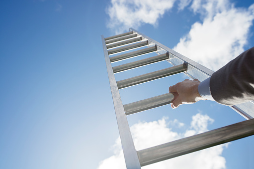 Ladder Of Success Stock Photo - Download Image Now