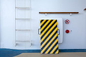 Ladder on cruise ship