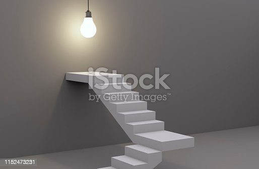 938669816 istock photo Ladder to Idea 1152473231