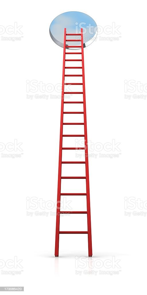 Ladder To Success royalty-free stock photo