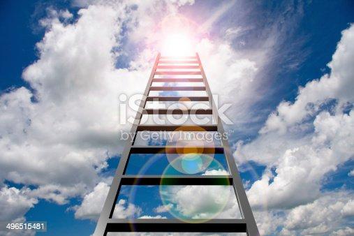 istock Ladder to Success 496515481