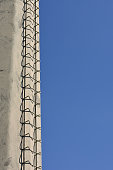 istock Ladder with Sky Background 1186008182