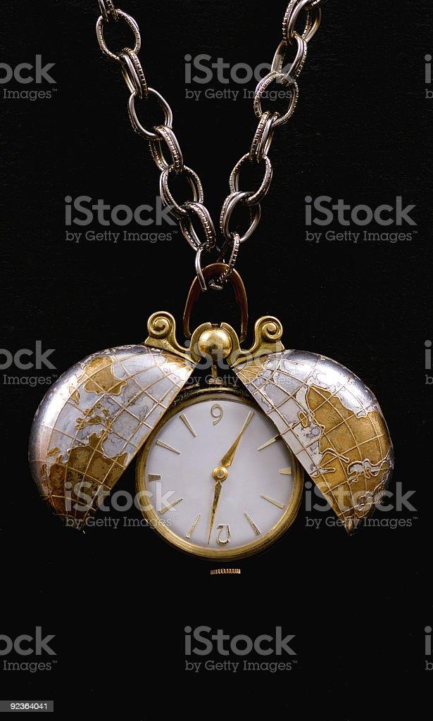 Ladies Antique Watch royalty-free stock photo