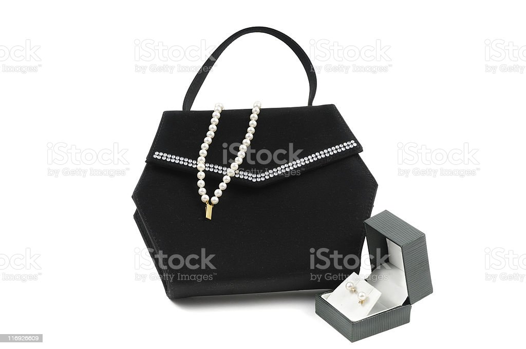 Ladies Evening Accessories stock photo