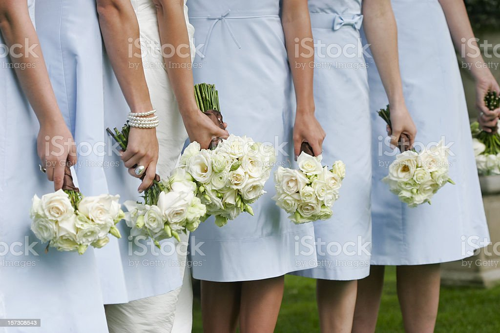 Ladies in Waiting stock photo