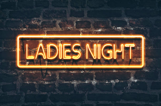 Ladies Night-Leuchtreklame – Foto
