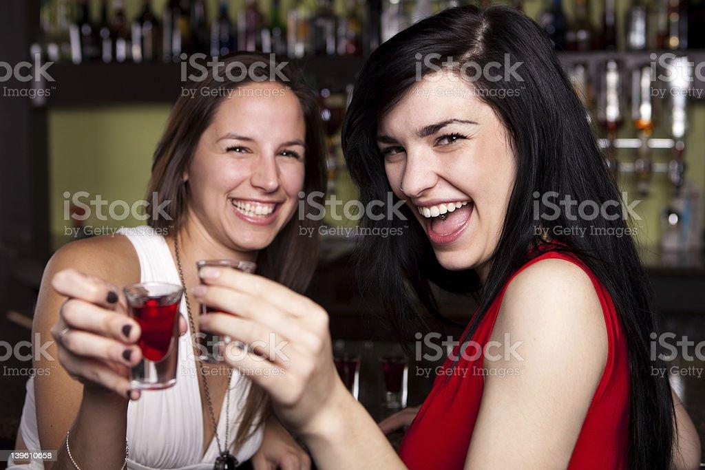 Ladies Night stock photo