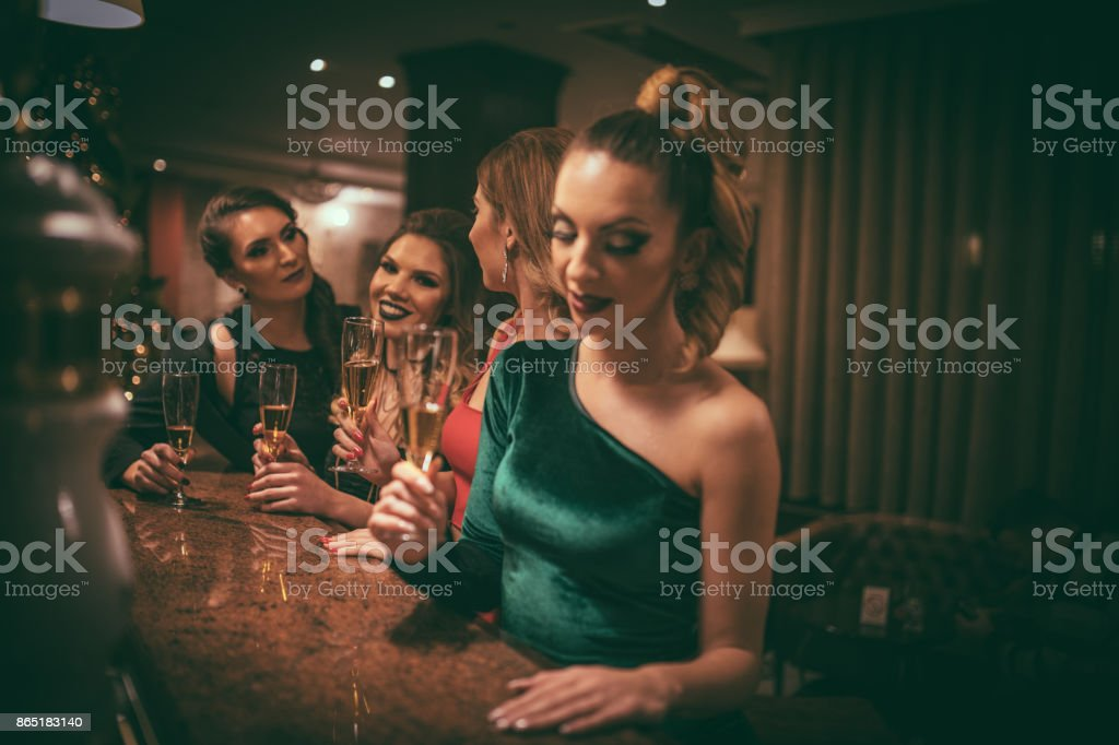 Ladies Night stock photo