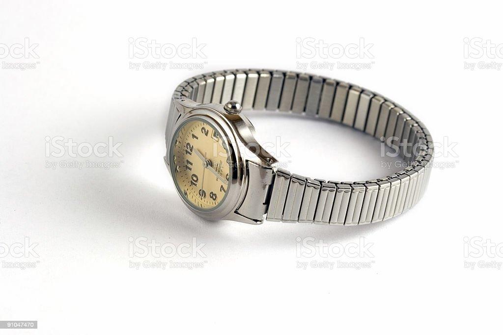 Ladies Wristwatch stock photo