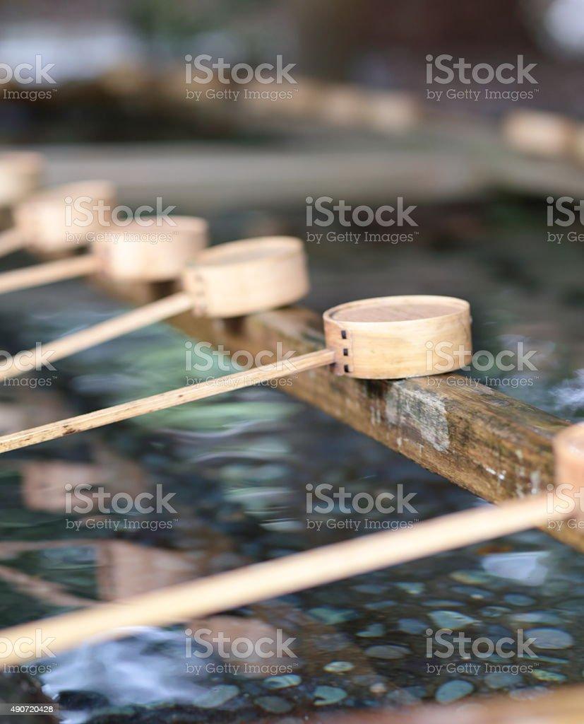 Ladle stock photo