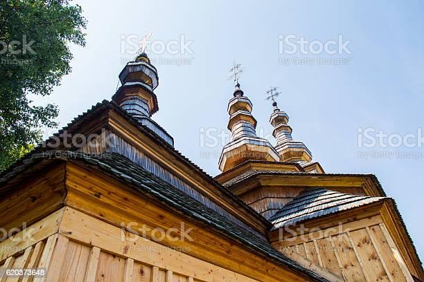 Ladomirova Slovakia Old St Michael Church Stock Photo - Download Image Now