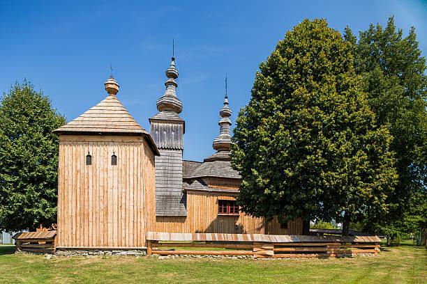Ladomirova, Slovakia. Old wood orthodox church – Foto