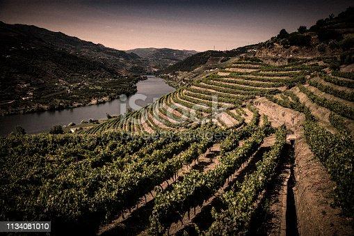 Ladscape in Douro Valley-Barragem do Pocinho-more files in my portfolio