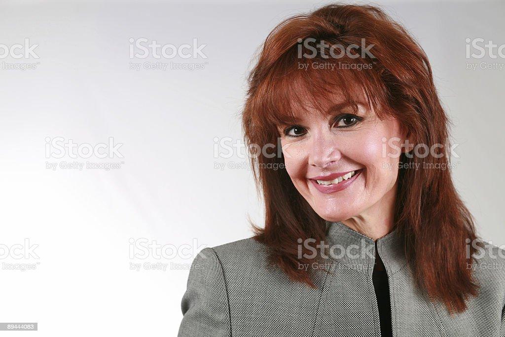 Lady Boss photo libre de droits
