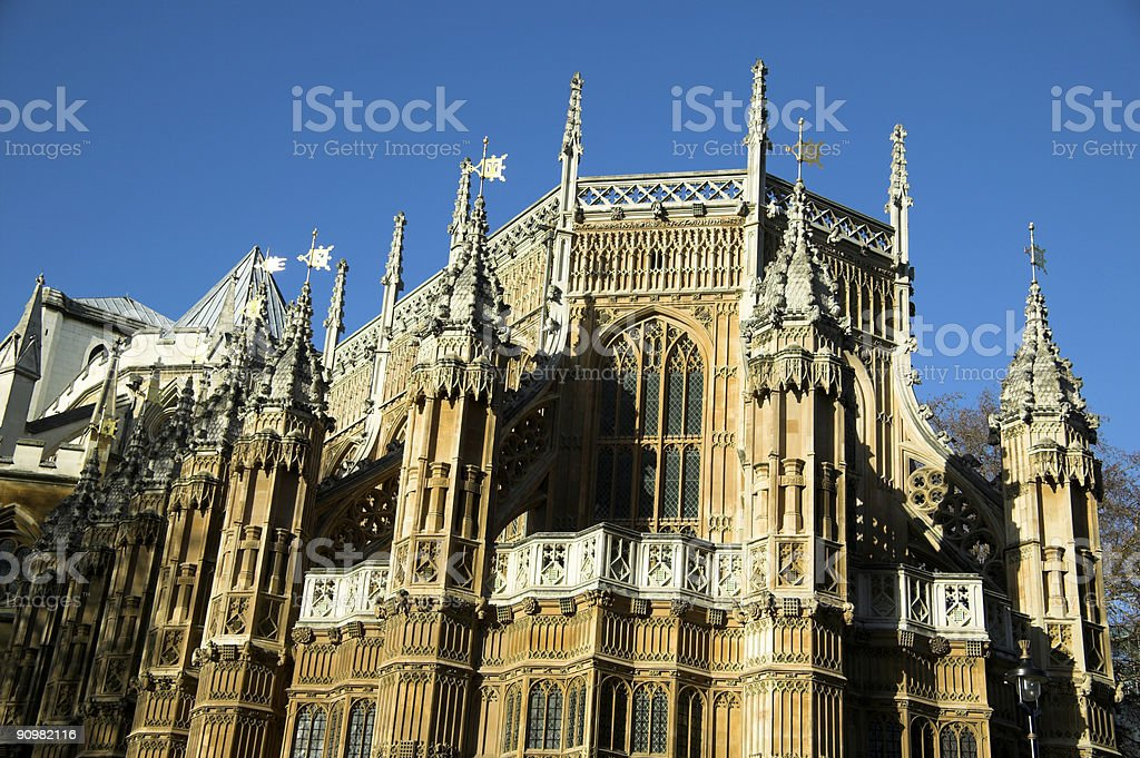 Lady Chapel Westminster Abbey stock photo