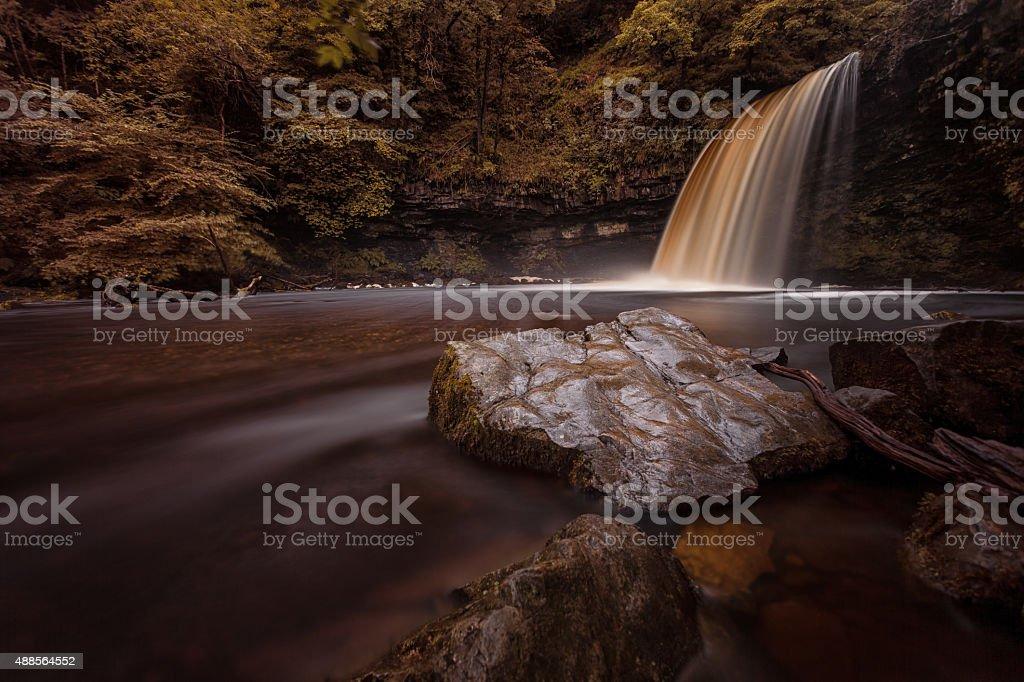 Lady Falls Waterfall Country stock photo