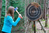 Lady Hatchet Thrower