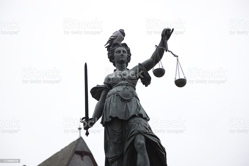 lady justice royalty-free stock photo