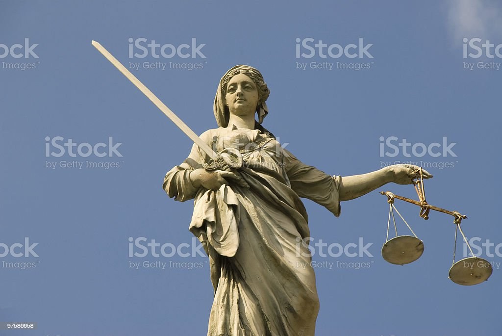 Lady Justice photo libre de droits