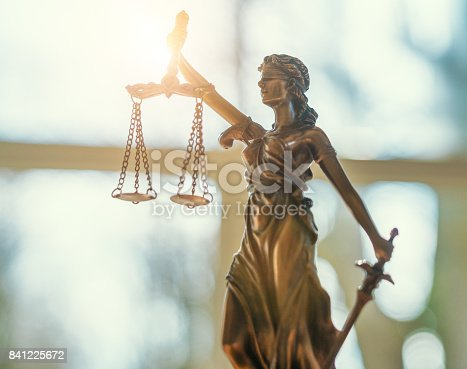 istock Lady Justice Statue 841225672