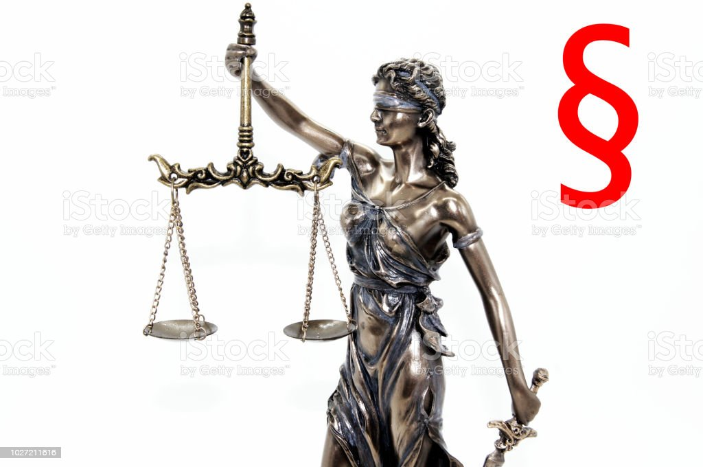 Lady Justitia Symbol Of Justice Stock Photo More Pictures Of