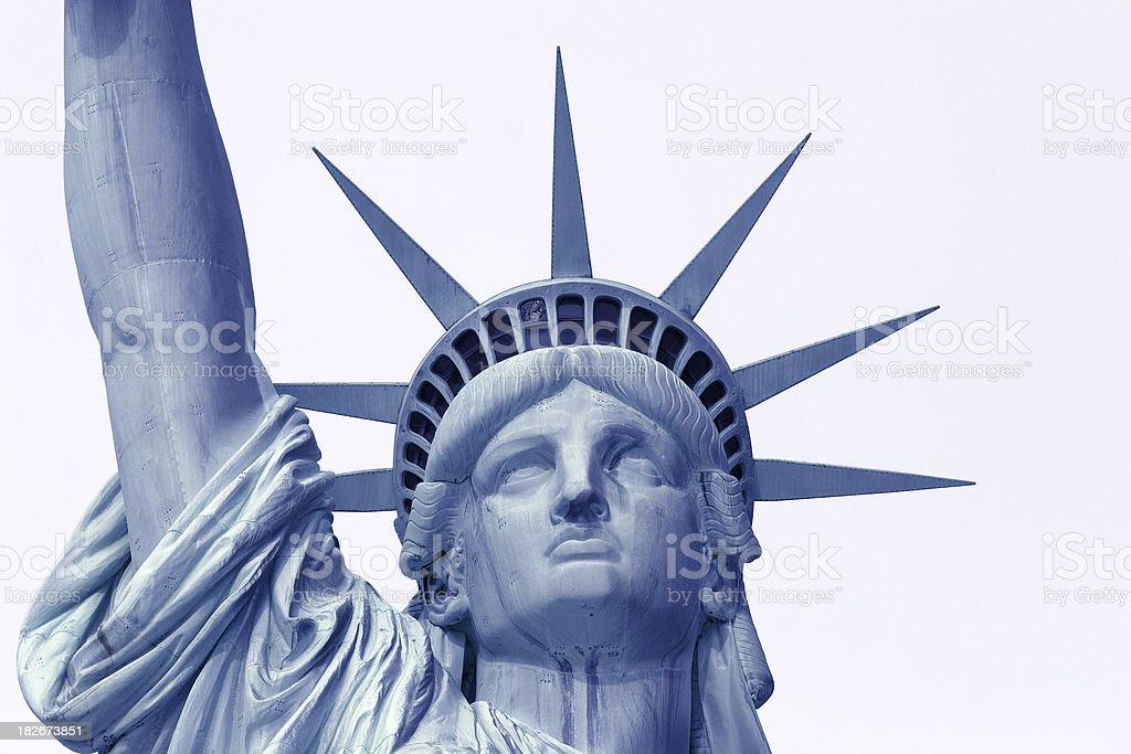 Lady Liberty in Blau – Foto