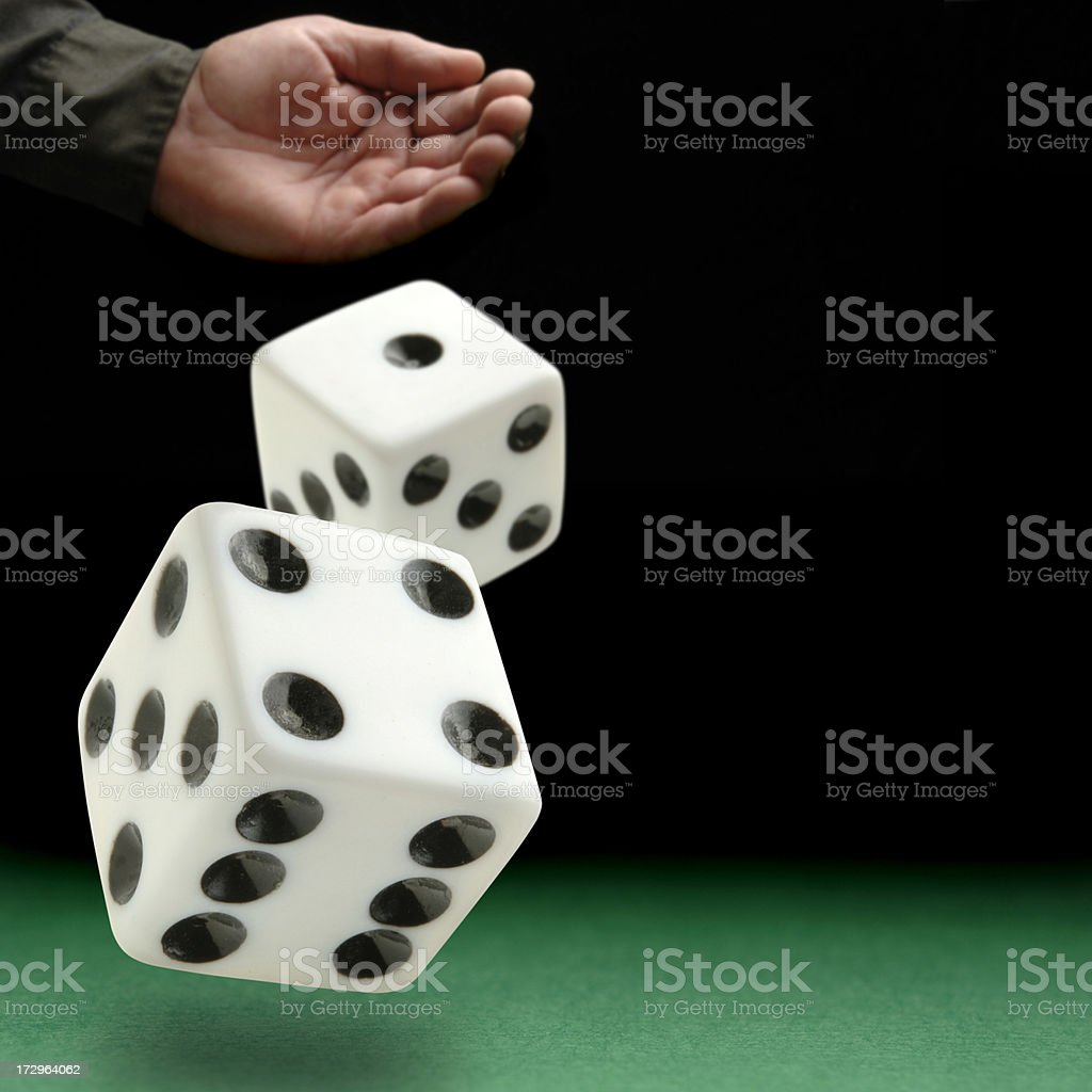 Lady Luck stock photo