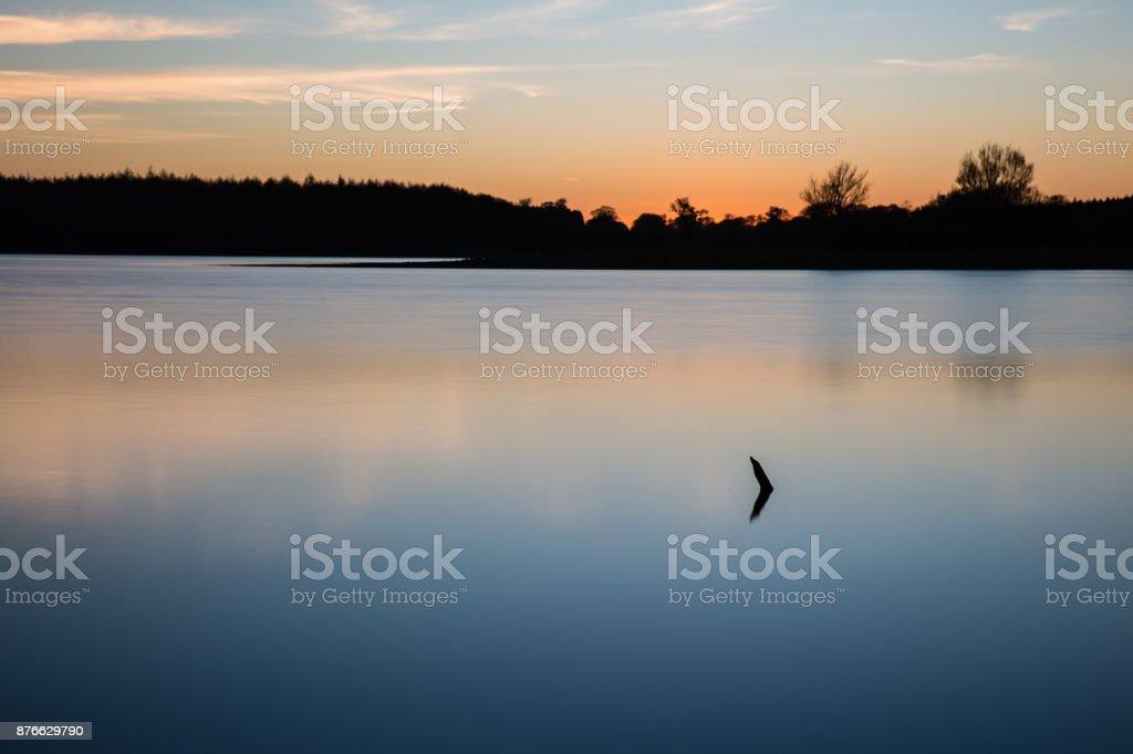 Lady of the Lake stock photo