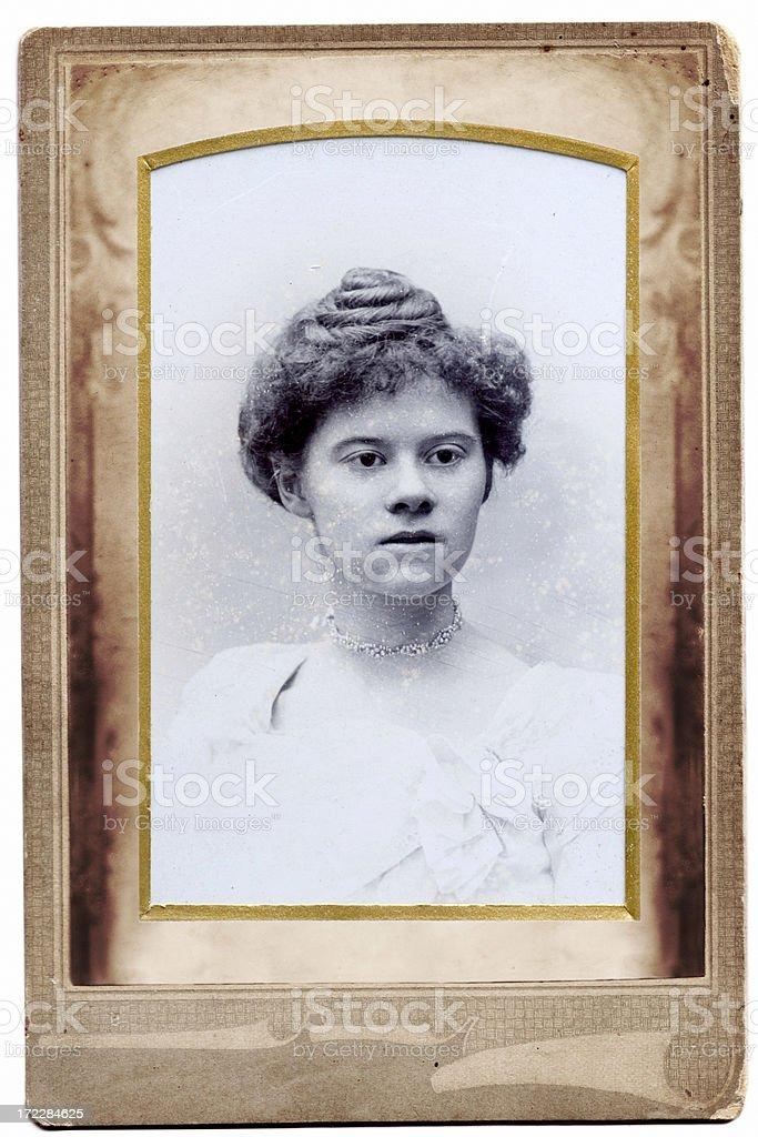 Lady stock photo