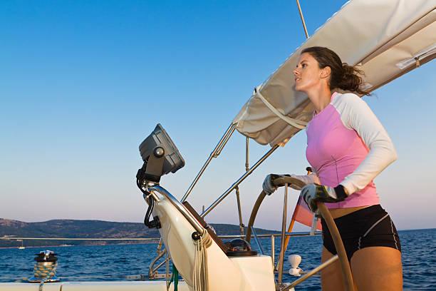lady sylvanoides - segelhandschuhe stock-fotos und bilder
