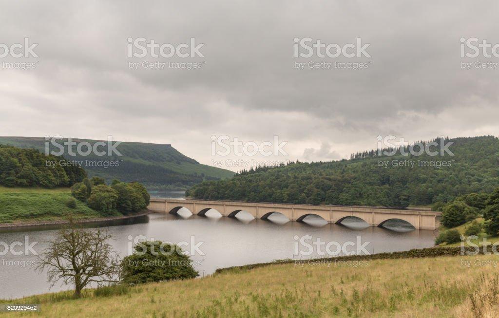 Ladybower in the Peak District, England, UK stock photo