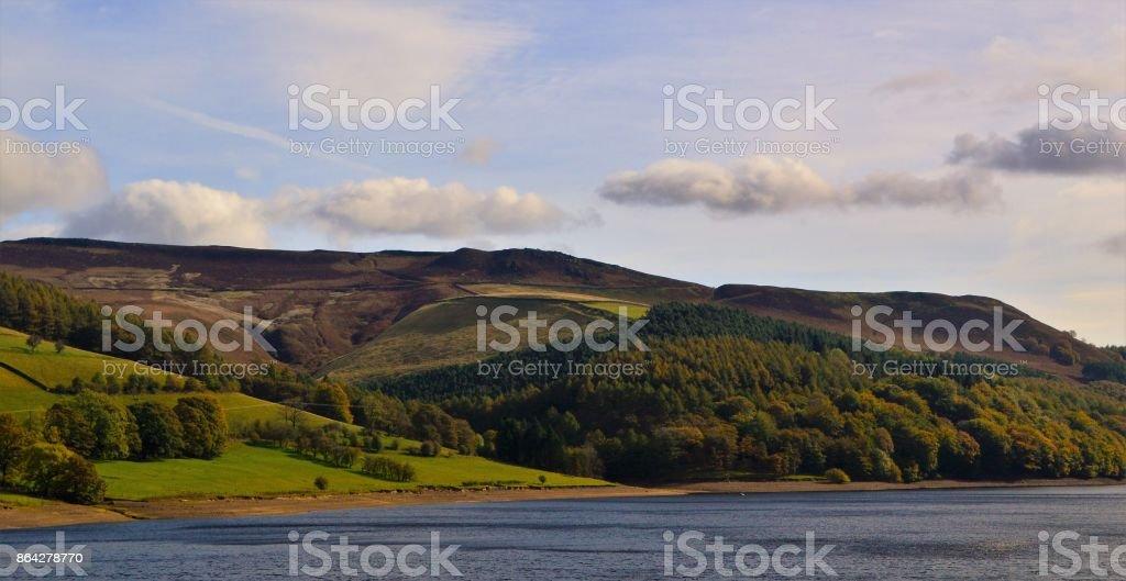 Ladybower Reservoir. royalty-free stock photo