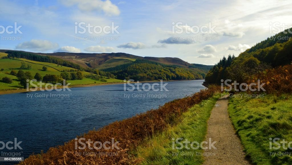 Ladybower Reservoir. royalty-free stock photo