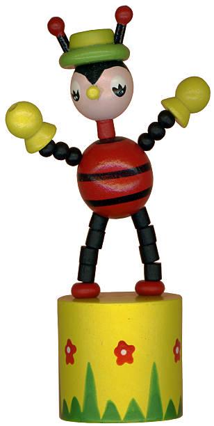 Ladybug Toy stock photo