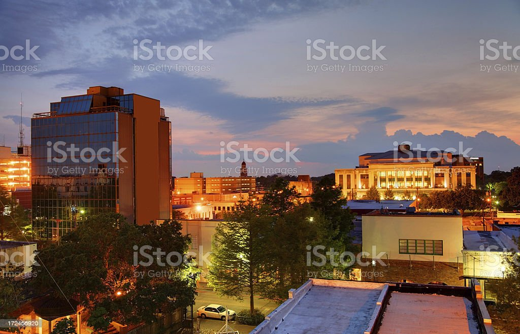 Lafayette  Louisiana stock photo
