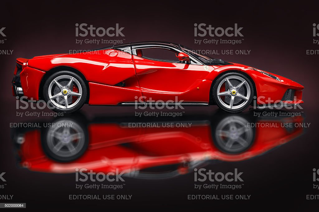 laferrari stock photo