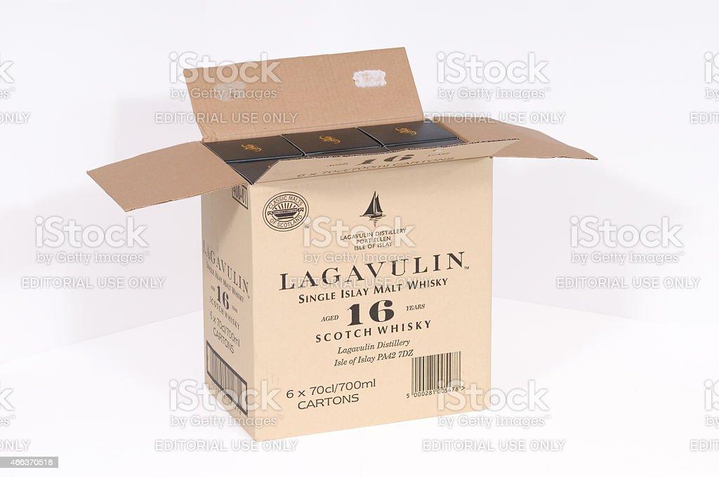 Lagavulin whisky stock photo