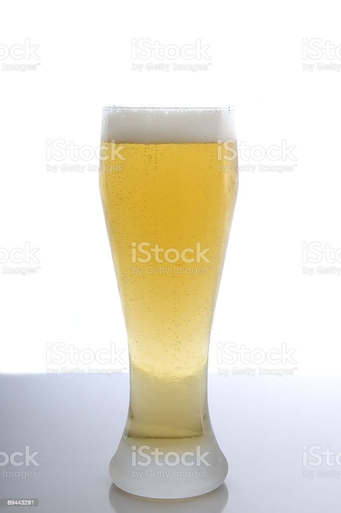 Bière blonde photo libre de droits