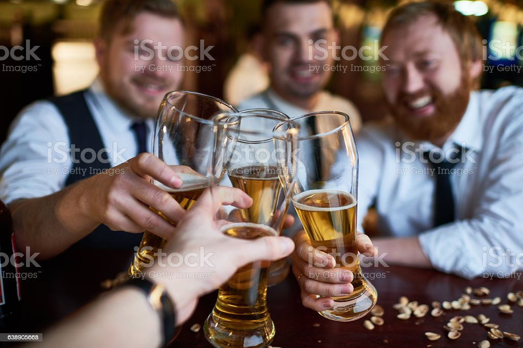 Lager time - foto stock